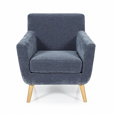 Kelso Occasional Chair in Blue