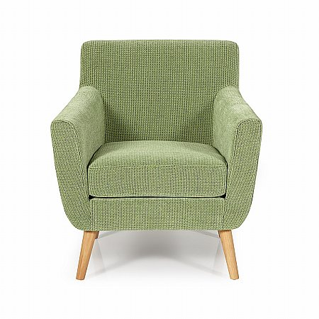 Kelso Occasional Chair in Green