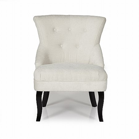 Melrose Occasional Chair in Pearl