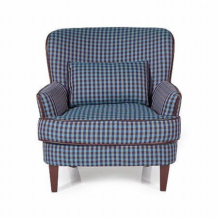 Moffat Occasional Chair in Blue