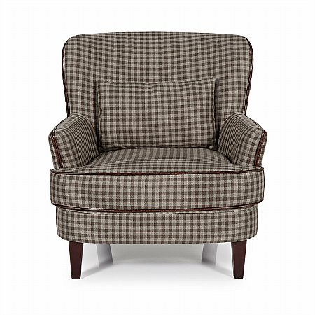 Moffat Occasional Chair in Brown