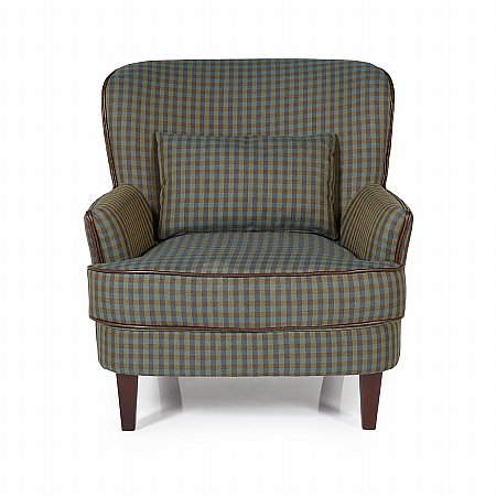 Moffat Occasional Chair in Green