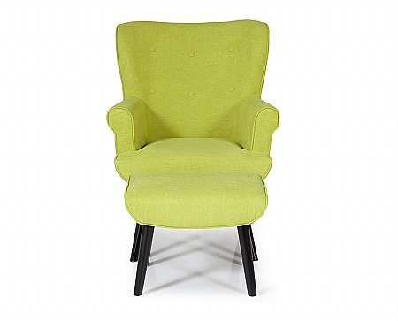 Oban Occasional Chair in Green