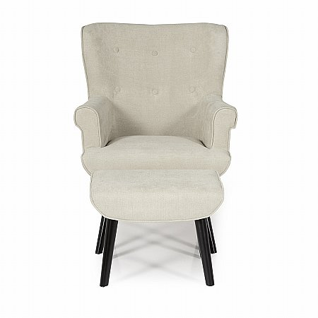 Oban Occasional Chair in Mink