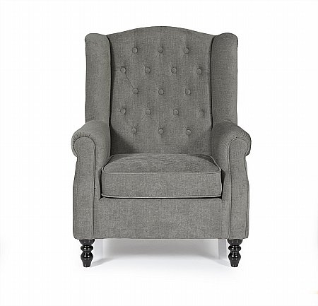 Perth Occasional Chair in Grey