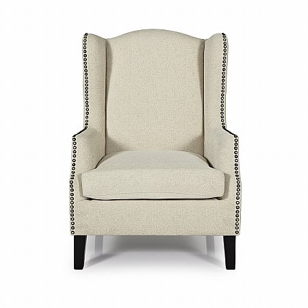 Stirling Occasional Chair in Cream