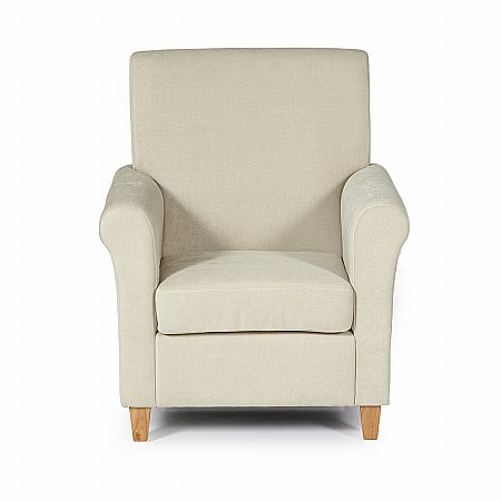 Thurso Occasional Chair in Cream