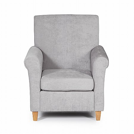 Thurso Occasional Chair in Grey