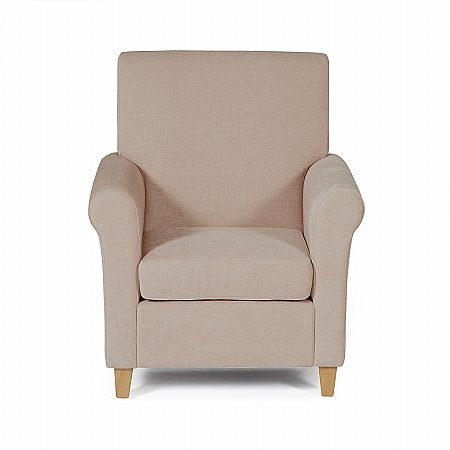 Thurso Occasional Chair in Mink