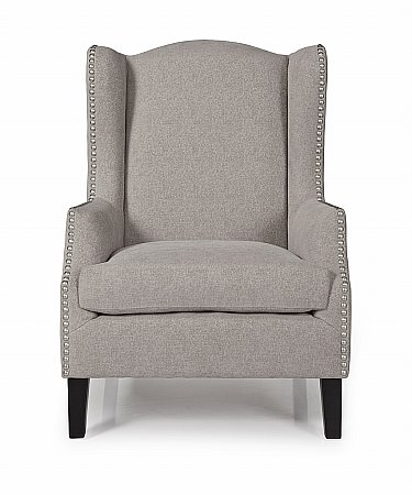 Stirling Occasional Chair in Silver