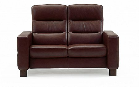 Wave High Back 2 Seater Sofa
