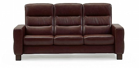 Wave High Back 3 Seater Sofa