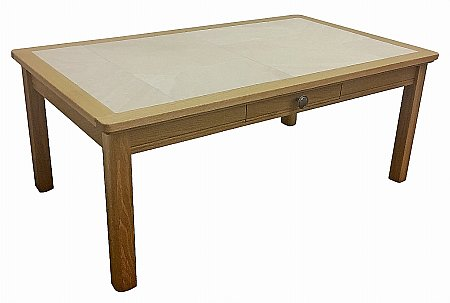 Beaumont Small Coffee Table with Drawer