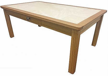 Beaumont Large Coffee Table with Drawer