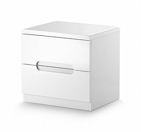 Manhattan 2 Drawer Bedside Cabinet
