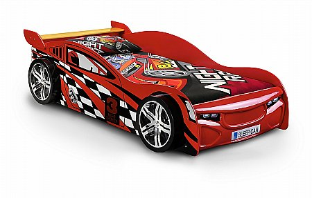 Scorpion Racer Boys Bed