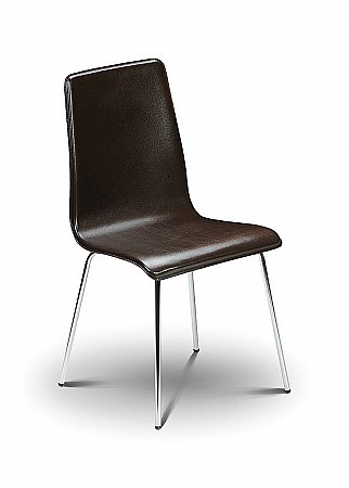 Mandy Brown Leather Chair