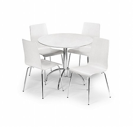 Mandy White Dining Table