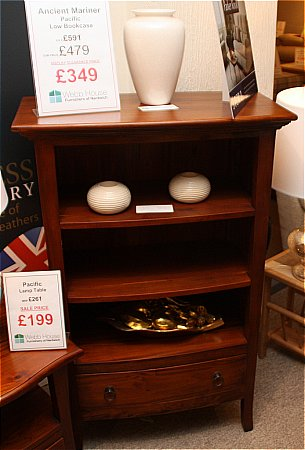 Pacific Low Bookcase