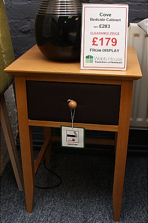 Cove Bedside Cabinet