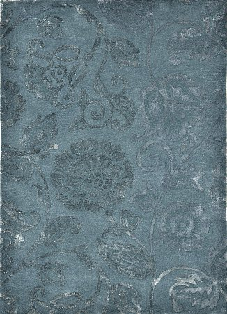 Country Chic Blue Diamond Rug