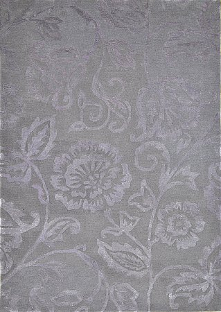 Country Chic French Grey Rug