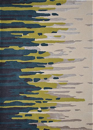 Diffraction Tropical Ocean Rug