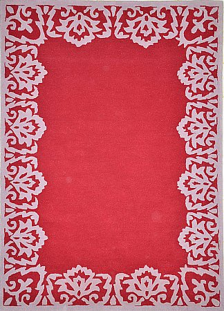 Florence Flame Red Rug