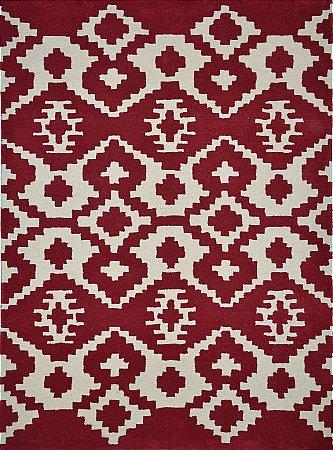 Mayan Inca Ruby Rug