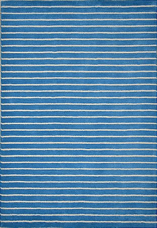 Ridges Blue Rug