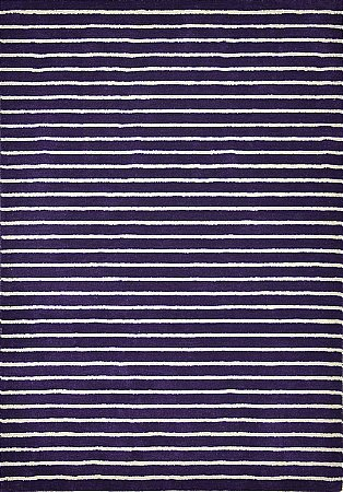 Ridges Purple Rug