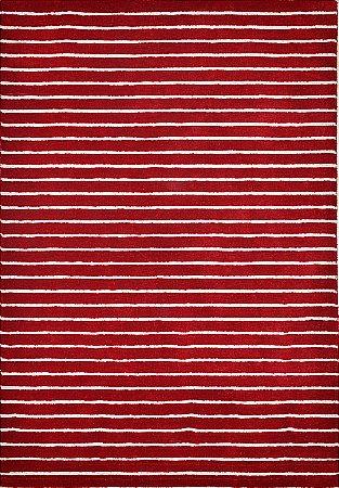 Ridges Red Rug
