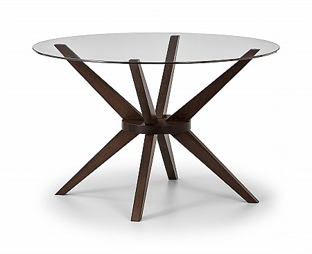 Chelsea Round Glass Dining Table