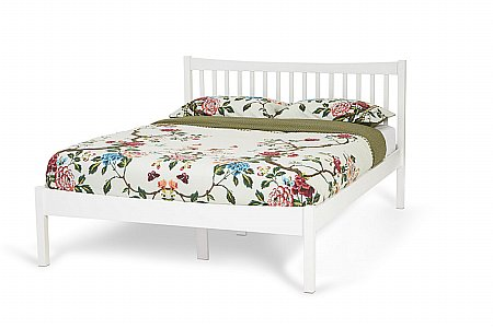 Alice Bedframe in Opal White