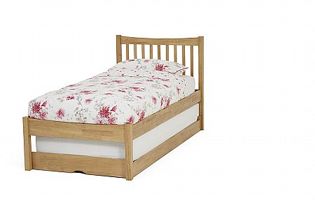 Alice Guest Bed in Honey Oak
