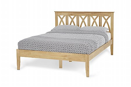 Autumn Bedframe in Honey Oak
