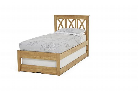Autumn Guest Bed in Honey Oak