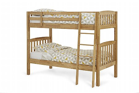 Ella Bunk Bed in Honey Oak