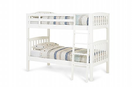 Ella Bunk Bed in Opal White