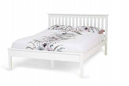 Heather Bedframe in Opal White