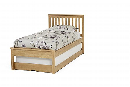 Heather Guest Bed in Honey Oak