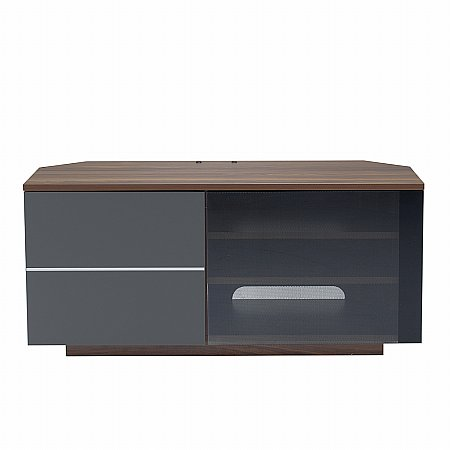 Tokyo TV Stand in Walnut and Grey