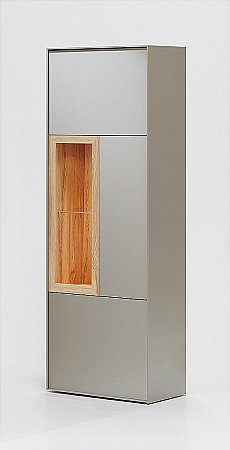 Pandora Display Cabinet in Grey