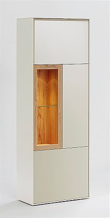 Pandora Display Cabinet in Cream