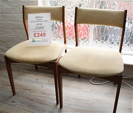 Classic Set of 2 Dining Chairs