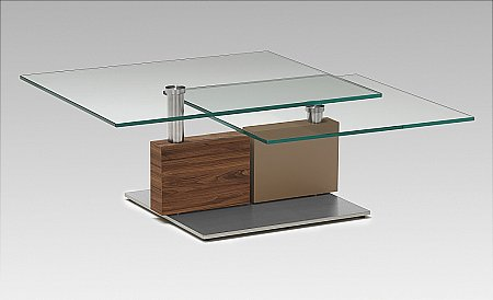 4383 Glass Top Coffee Table
