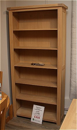 Bretagne Tall Wide Bookcase