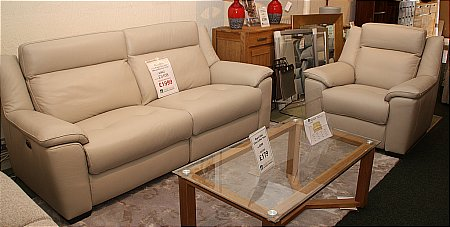 Stamford 2.5 Seater Power Recline Sofa and Manual Recliner
