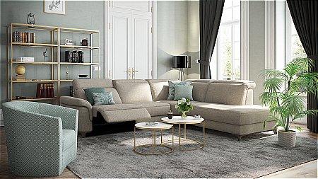 Bellona Fabric Corner Suite