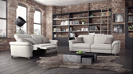 Bellona Leather Suite